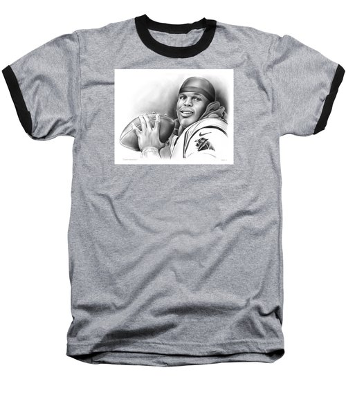 Cam Newton Baseball T-Shirt