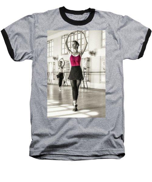 Camaguey Ballet 1 Baseball T-Shirt