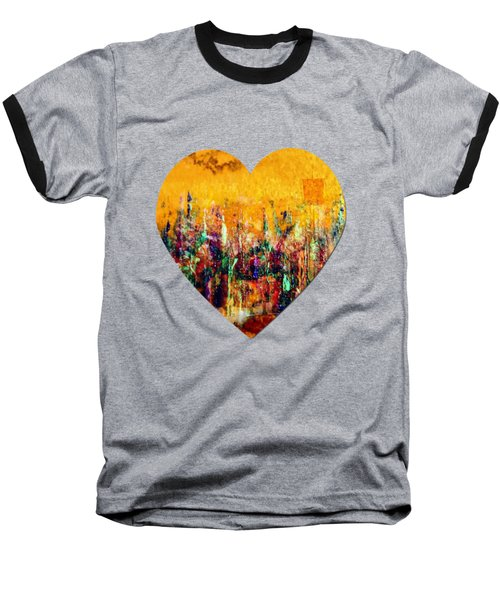 Baseball T-Shirt featuring the painting Camaraderie  by Valerie Anne Kelly