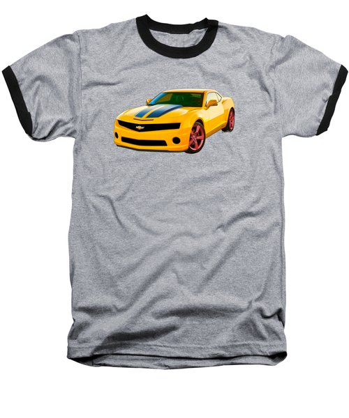 Camaro 2015 - 5th Generation Chevy Camaro Baseball T-Shirt