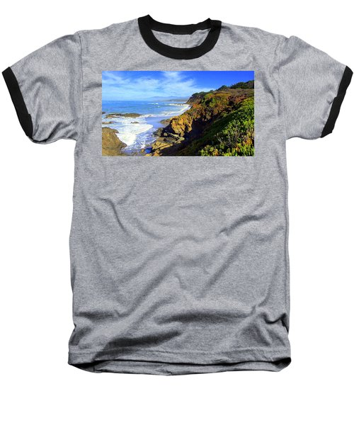 Cambria By The Sea Baseball T-Shirt