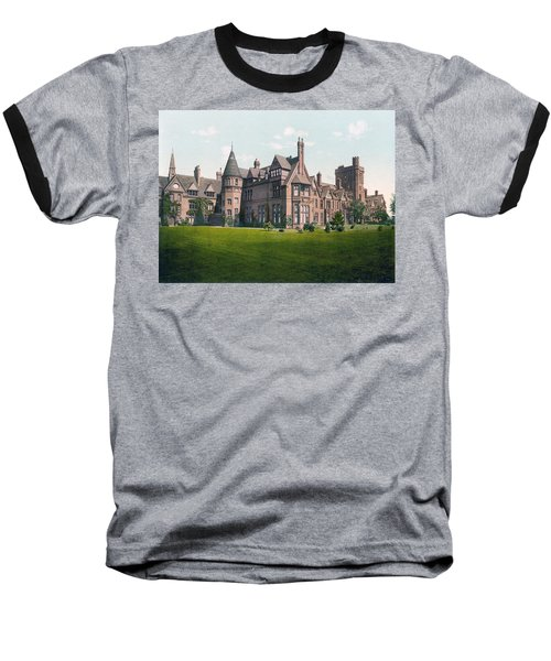 Cambridge - England - Girton College Baseball T-Shirt