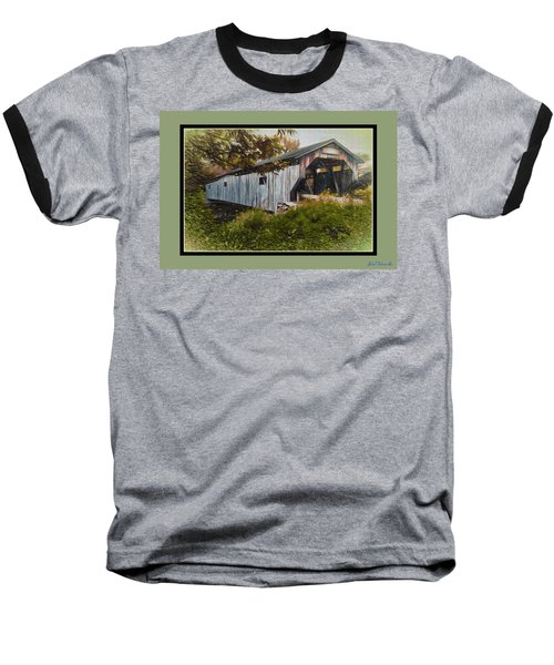 Cambridge Jct. Bridge Baseball T-Shirt by John Selmer Sr