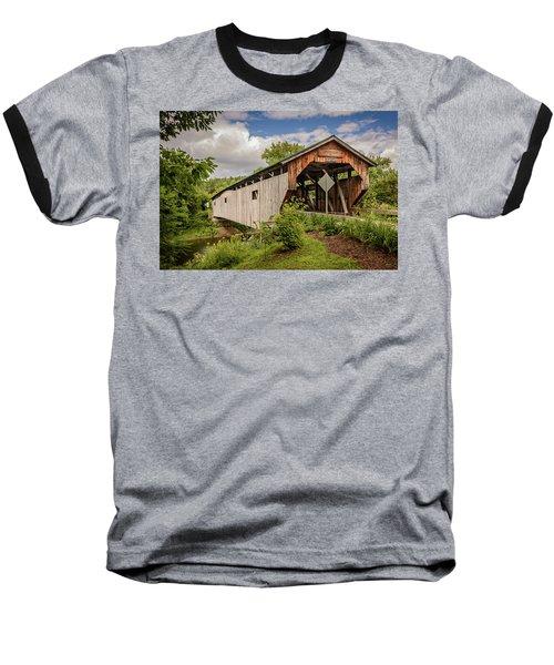 Cambridge Junction Bridge Baseball T-Shirt