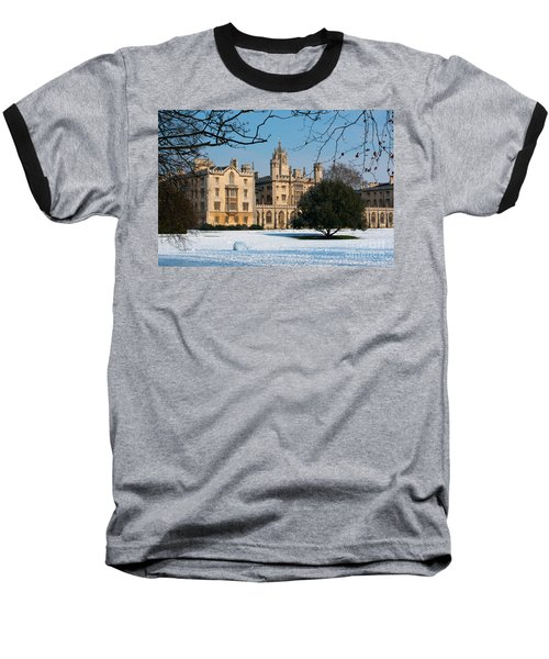 Cambridge Snowscape Baseball T-Shirt