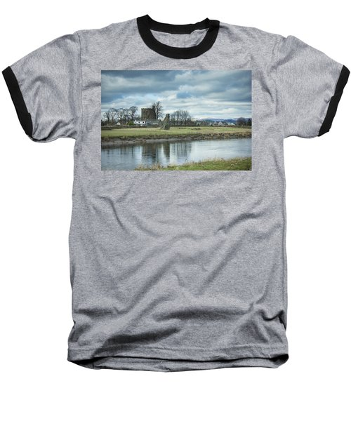 Cambuskenneth Abbey And The River Forth Baseball T-Shirt