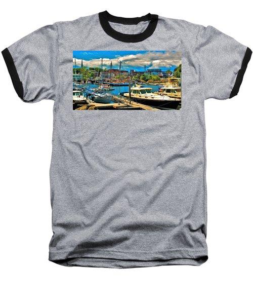 Camden Harbor Baseball T-Shirt