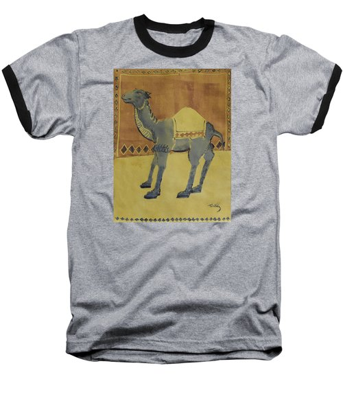Camel With Diamonds Baseball T-Shirt
