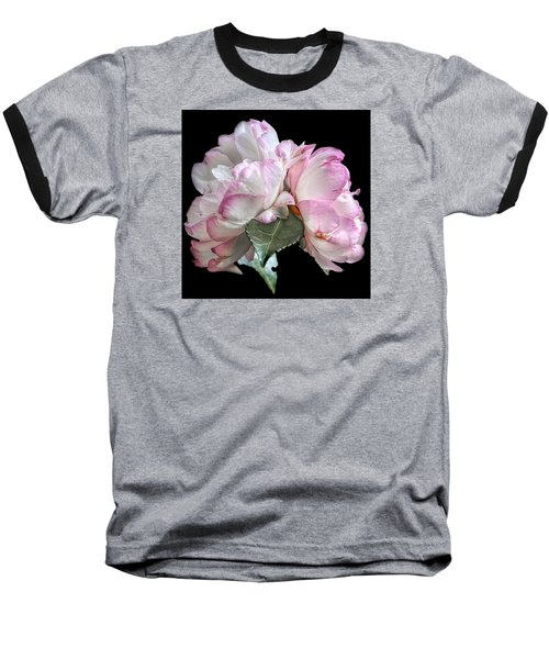Baseball T-Shirt featuring the photograph Camelia by Susi Stroud