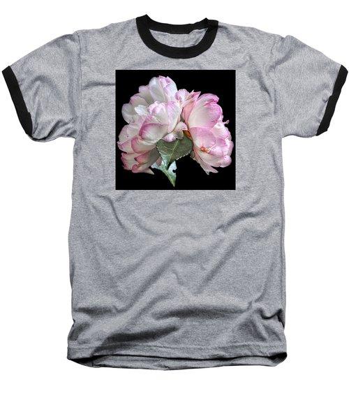 Camelia Baseball T-Shirt by Susi Stroud