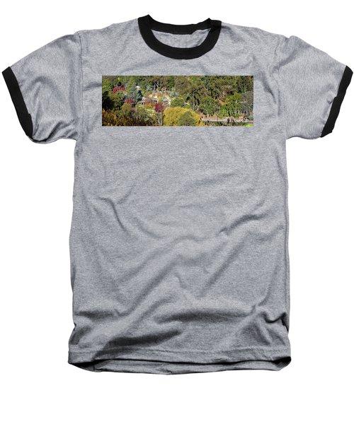 Camelot Castle, Basket Range Baseball T-Shirt