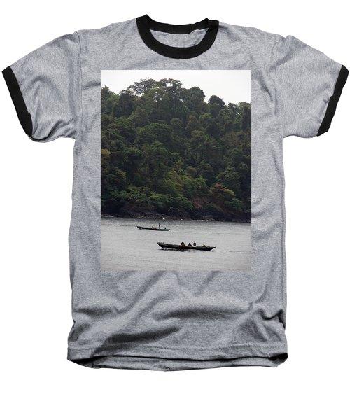 Cameroon Fisherman Africa Baseball T-Shirt