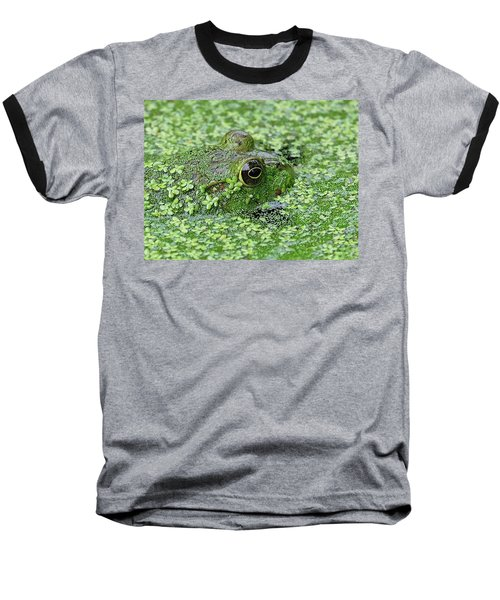 Camo Frog Baseball T-Shirt