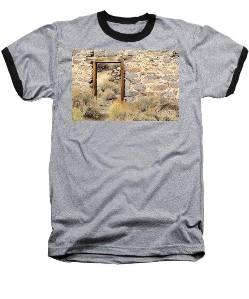 Doorway To Nowhere Baseball T-Shirt