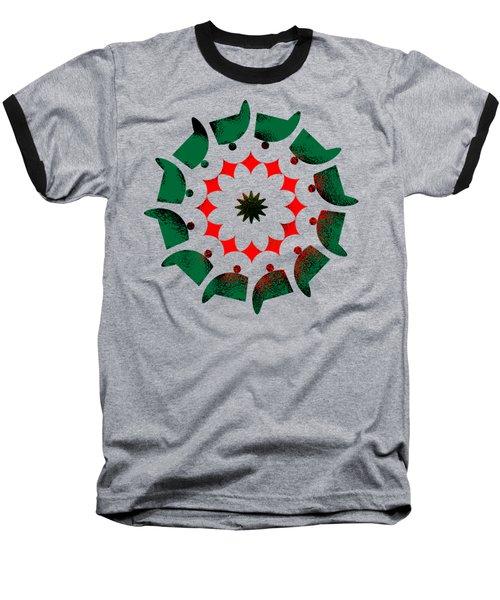 Camp Fire Baseball T-Shirt