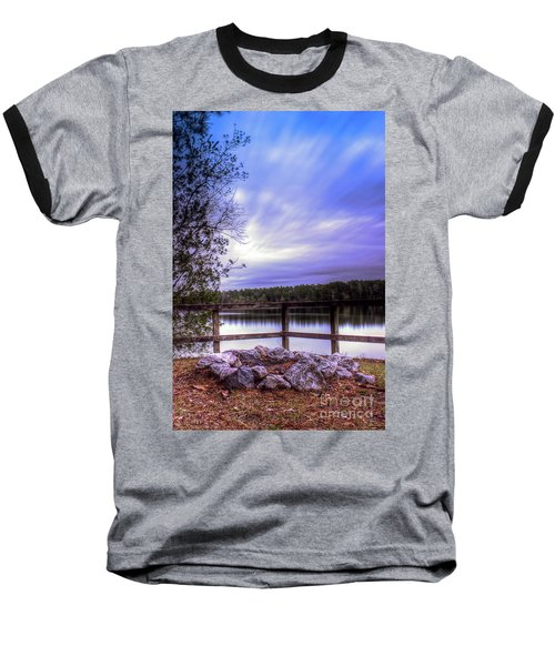 Baseball T-Shirt featuring the photograph Camp Ground by Maddalena McDonald