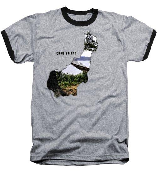 Camp Island Baseball T-Shirt
