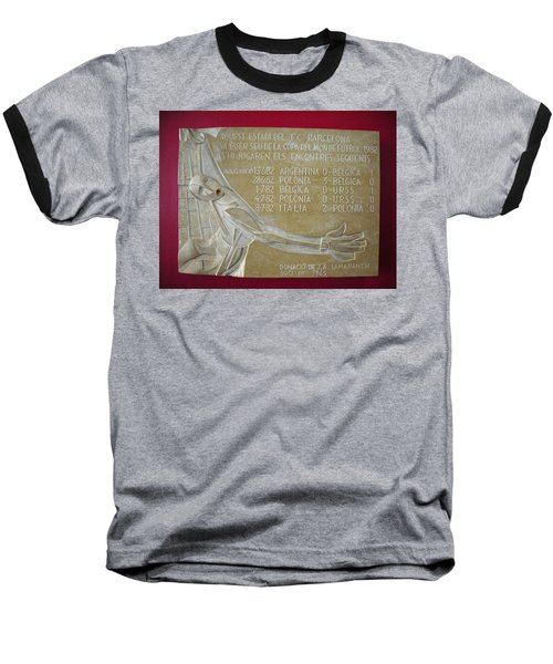 Baseball T-Shirt featuring the photograph Camp Nou 1982 by Juergen Weiss