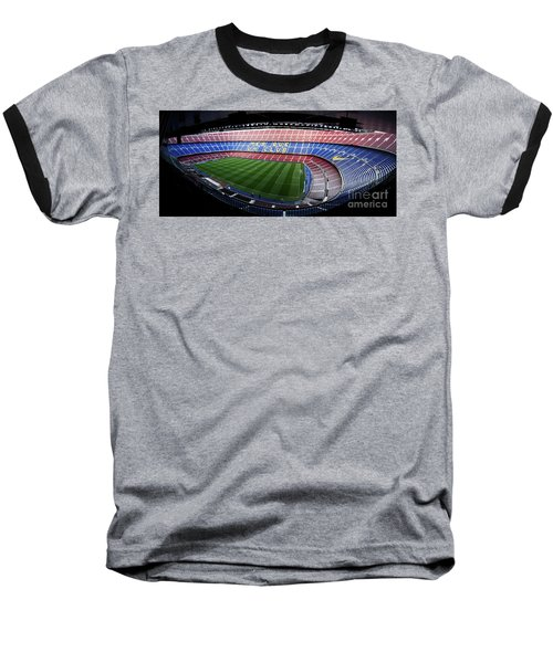 Camp Nou Baseball T-Shirt