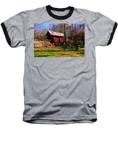 Campbell's Covered Bridge Est. 1909 Baseball T-Shirt