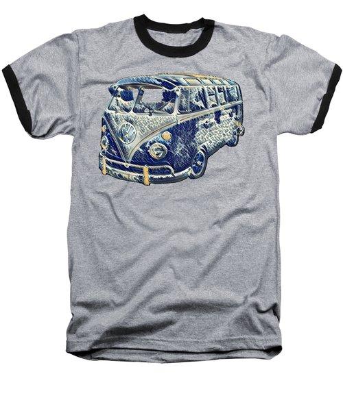 Camper Van Waves Baseball T-Shirt