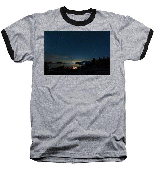 Campfire 1 Baseball T-Shirt