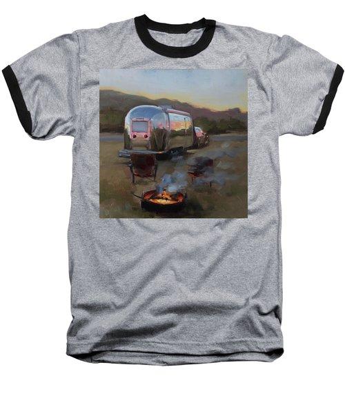 Campfire At Palo Duro Baseball T-Shirt