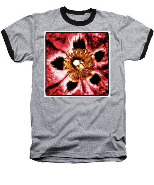 Baseball T-Shirt featuring the photograph Can You Guess What Flower? Hints: It's by Mr Photojimsf