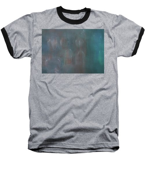 Can You Hear The News Of Tomorrow? Baseball T-Shirt by Min Zou