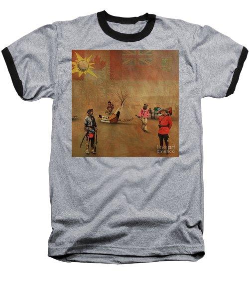 Canada 150 Years Old Baseball T-Shirt