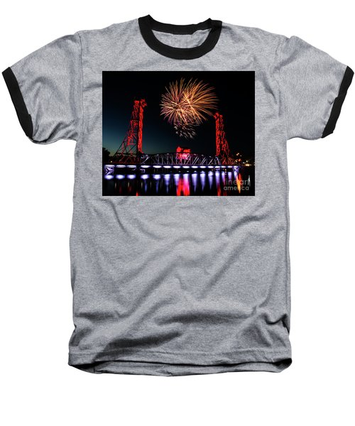 Baseball T-Shirt featuring the photograph Canada Day 2016 by JT Lewis