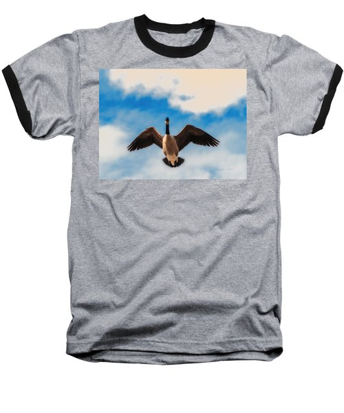 Canada Geese In Spring Baseball T-Shirt
