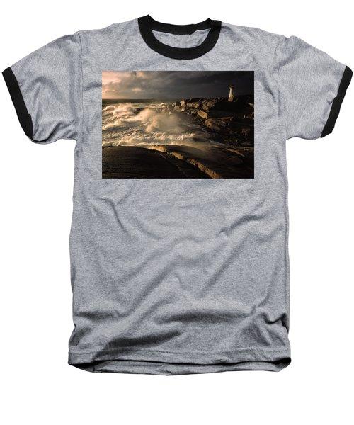 Canada Nova Scotia Peggy's Cove Baseball T-Shirt