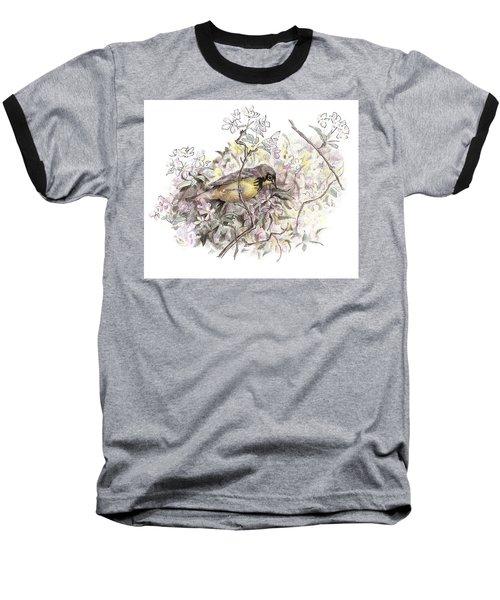 Canada Warbler Baseball T-Shirt