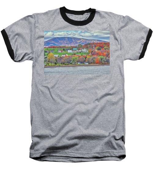 Canadian Fall Foliage Baseball T-Shirt