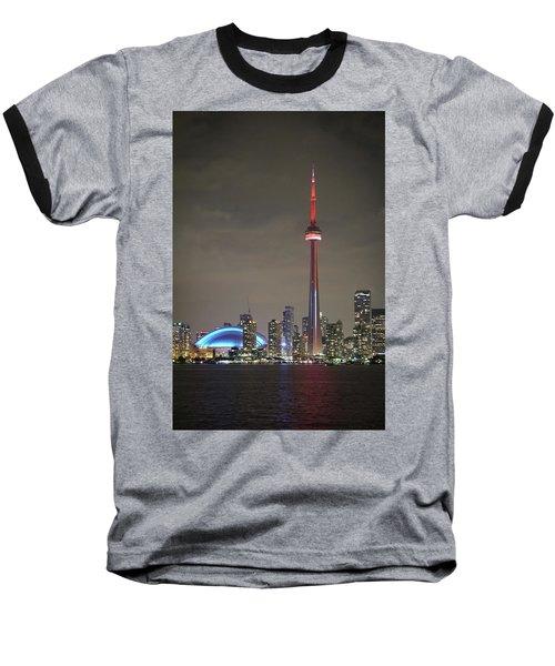 Canadian Landmark Baseball T-Shirt