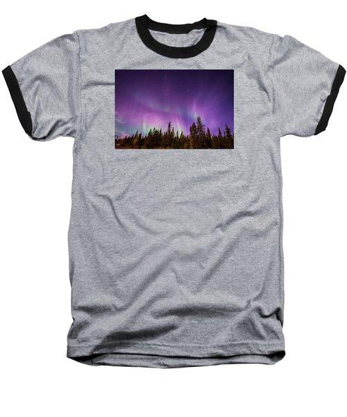 Canadian Northern Lights Baseball T-Shirt