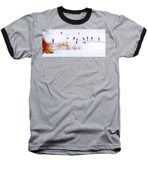 Baseball T-Shirt featuring the photograph Canadiana by John Poon