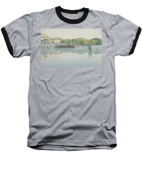 Baseball T-Shirt featuring the photograph Canal In Pastels by Everet Regal