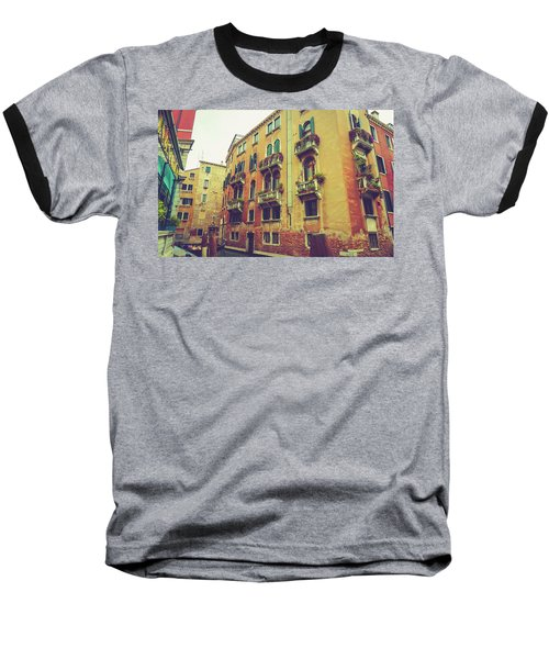 Canal In Venice, Italy Baseball T-Shirt