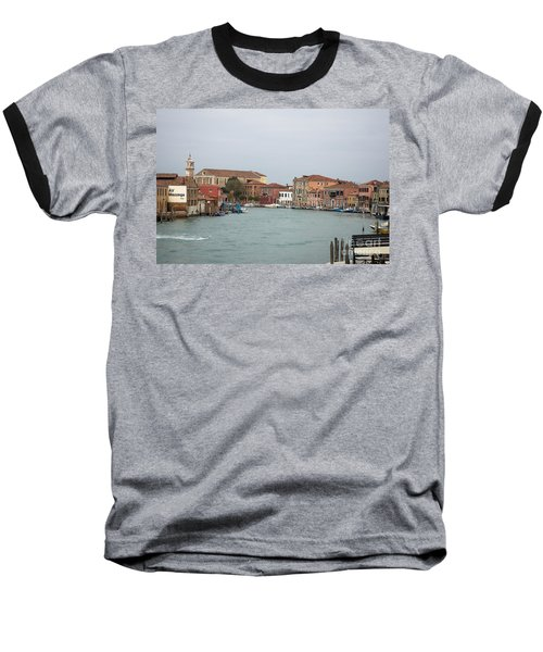Canal Of Murano Baseball T-Shirt