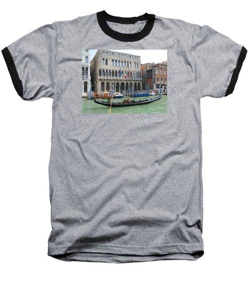 Canal Of Venise Baseball T-Shirt