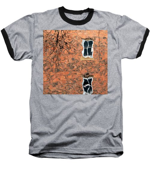 Canal Reflections 1 Baseball T-Shirt
