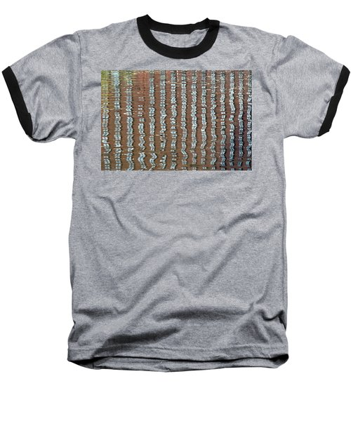 Canal Reflections 4 Baseball T-Shirt