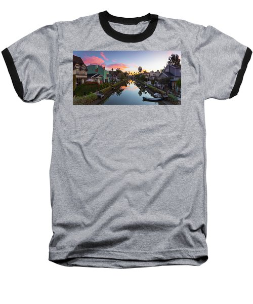Canals Of Venice Beach Baseball T-Shirt