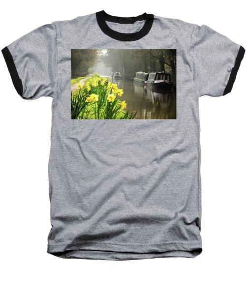 Canalside Daffodils Baseball T-Shirt