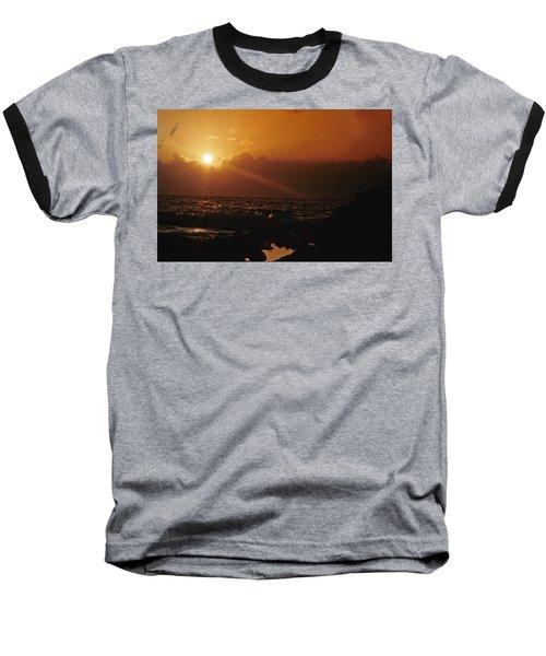 Canary Islands Sunset Baseball T-Shirt
