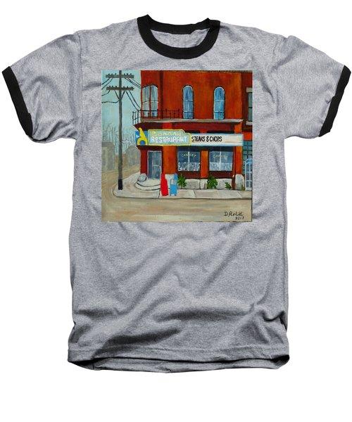 Canary Restaurant Baseball T-Shirt