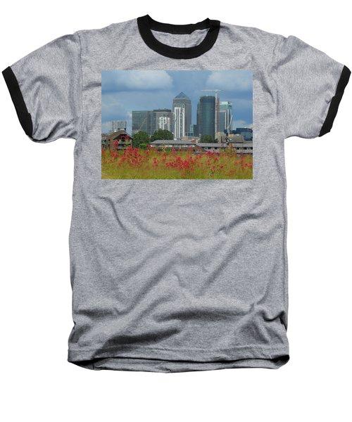 Canary Wharf 01 Baseball T-Shirt