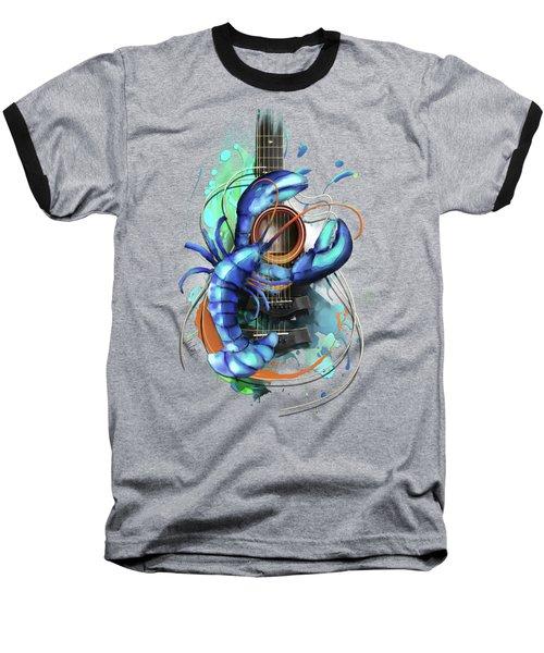Cancer Baseball T-Shirt by Melanie D